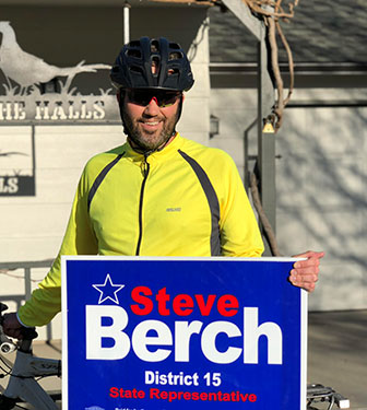 Steve Berch Yard Sign